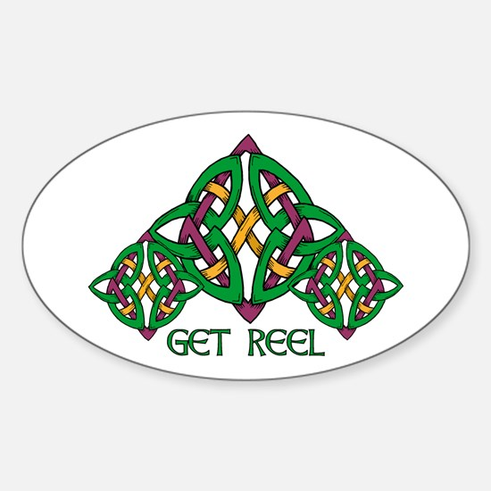 Get Reel Oval Decal