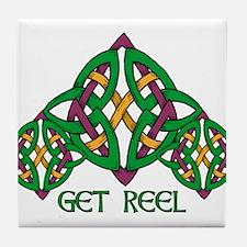 Get Reel Tile Coaster
