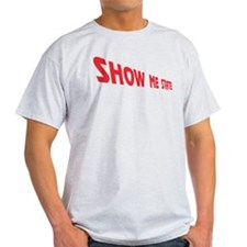Missouri The Show Me State Ash Grey T-Shirt