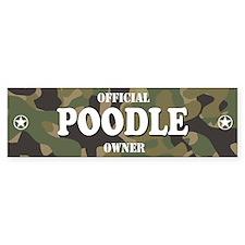 POODLE Bumper Bumper Sticker