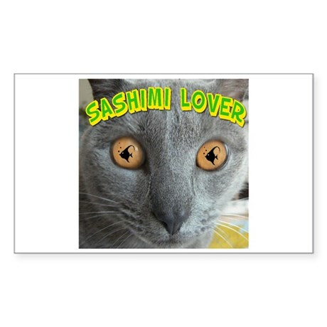 Sashimi Lover Rectangle Sticker