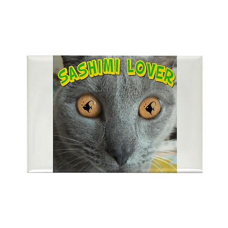 Sashimi Lover Rectangle Magnet