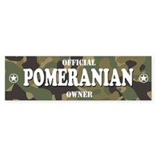 POMERANIAN Bumper Bumper Sticker