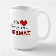 My heart belongs to a Shaman Mugs