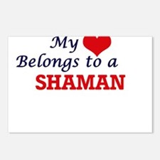 My heart belongs to a Sha Postcards (Package of 8)