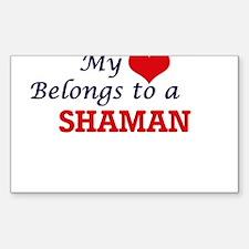 My heart belongs to a Shaman Decal