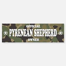 PYRENEAN SHEPHERD Bumper Bumper Bumper Sticker