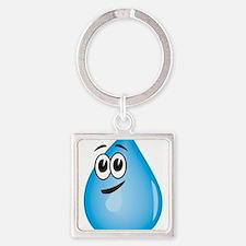 Water Drop Keychains