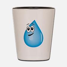 Water Drop Shot Glass