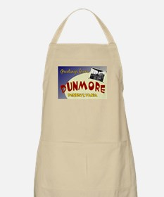 Greetings From Dunmore BBQ Apron