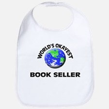 World's Okayest Book Seller Bib