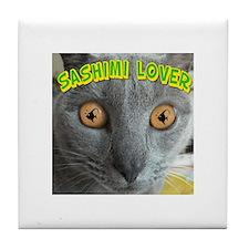 Sashimi Lover #2 Tile Coaster
