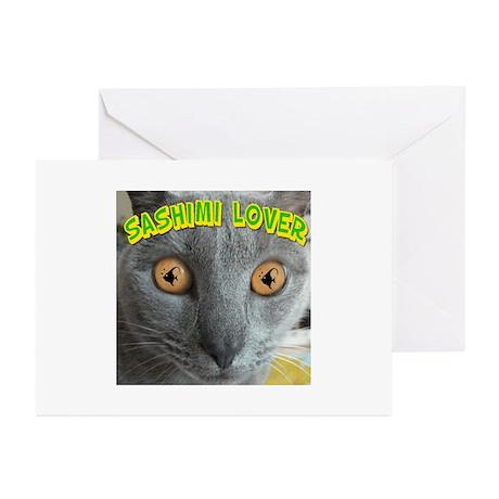 Sashimi Lover #2 Greeting Cards (Pk of 20)