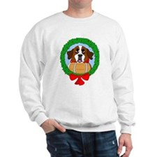 Saint Bernard Dog Christmas Sweatshirt