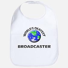 World's Okayest Broadcaster Bib