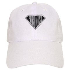SuperPublicist(metal) Baseball Cap