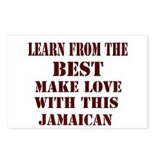 learn best from Jamaicans Postcards (Package of 8)