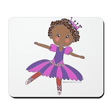 Ethnic Ballerina Purple Mousepad