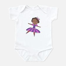 Ethnic Ballerina Purple Infant Bodysuit