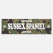 SUSSEX SPANIEL Bumper Bumper Bumper Sticker