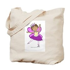Butterfly Ballerina Tote Bag