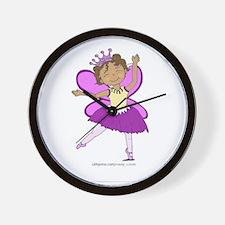 Butterfly Ballerina Wall Clock