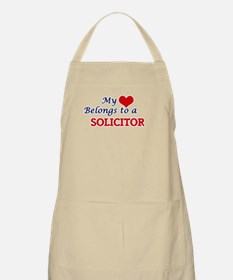 My heart belongs to a Solicitor Apron