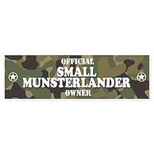 SMALL MUNSTERLANDER Bumper Car Sticker