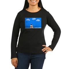 The Grumpy, Frustrated Snowman T-Shirt