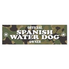 SPANISH WATER DOG Bumper Bumper Sticker