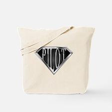 SuperPilot(metal) Tote Bag
