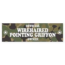WIREHAIRED POINTING GRIFFON Bumper Bumper Sticker