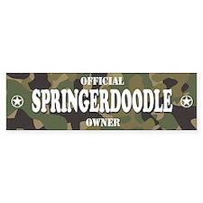 SPRINGERDOODLE Bumper Bumper Sticker