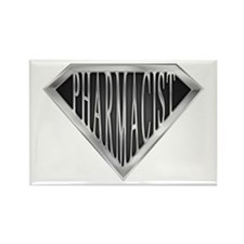 SuperPharmacist(metal) Rectangle Magnet