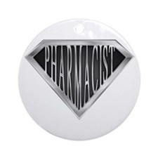 SuperPharmacist(metal) Ornament (Round)