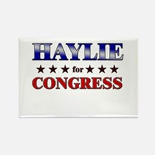 HAYLIE for congress Rectangle Magnet