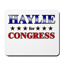 HAYLIE for congress Mousepad