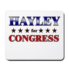 HAYLEY for congress Mousepad