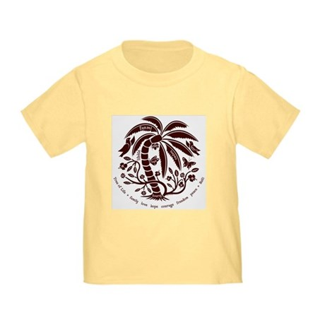 Toddler T-Shirt/Chocolate Tree of Life