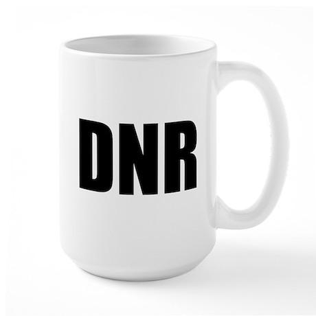 DNR Large Mug
