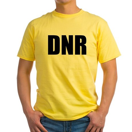 DNR Yellow T-Shirt
