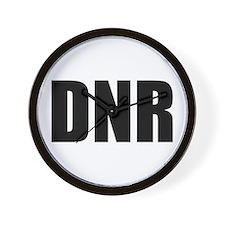 DNR  Wall Clock