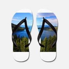 Emerald Island Flip Flops