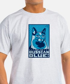 Obey the Russian Blue! T-Shirt