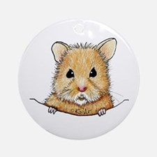 Pocket Hamster Ornament (Round)