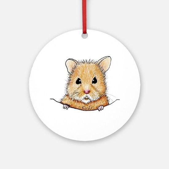 Pocket Hamster Ornament (Round)