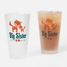 Big Sister to Be Drinking Glass