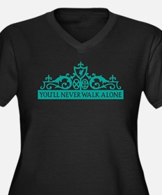 SOC Liverpool Walk Alone Plus Size T-Shirt