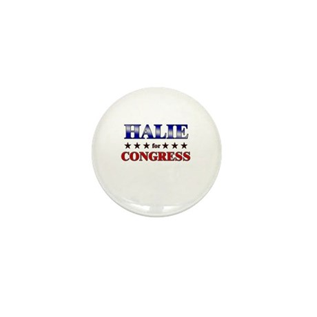 HALIE for congress Mini Button (10 pack)