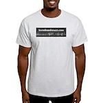 6thBoro, Night Skyline T-Shirt (Ash)
